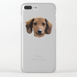 Tucker Clear iPhone Case