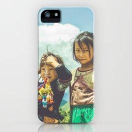 Hmong Innocence iPhone Case