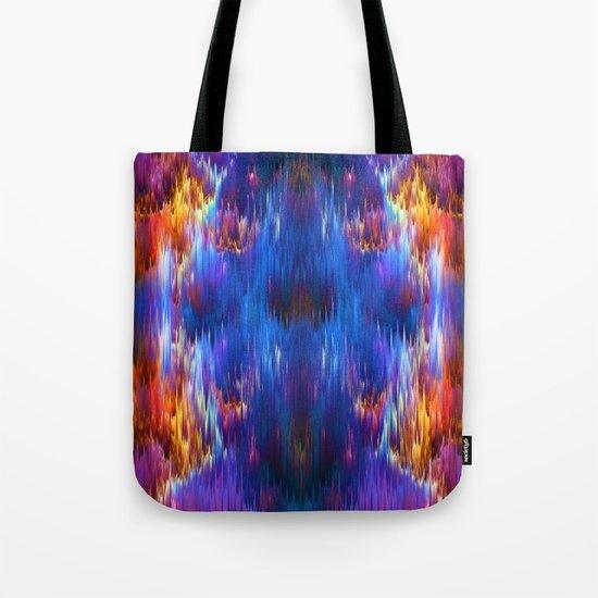 Staggering Spectrum Tote Bag