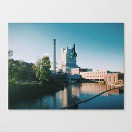 Sappi Mill, Westbrook, ME Canvas Print