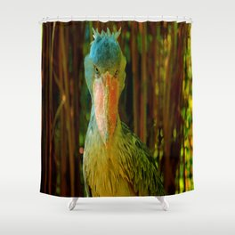 Don't look at me! Shower Curtain