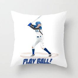 Play Ball! Throw Pillow