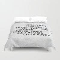bastille Duvet Covers featuring Bastille #2 by Thafrayer