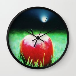 The Big Apple Wall Clock