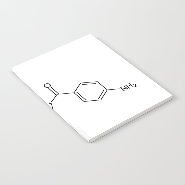 cocaine chemical formula Notebook