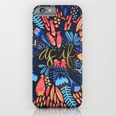 As If – Pink & Black Slim Case iPhone 6