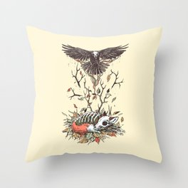Eternal Sleep Throw Pillow