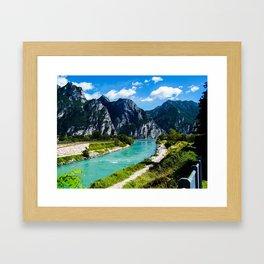 A River Runs Through It II Framed Art Print