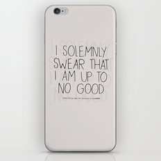 Harry Potter Quote #1 iPhone & iPod Skin