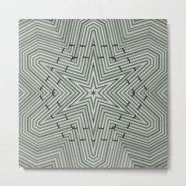 Bamboo Star Metal Print