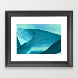 Landscape ~ light and movement Framed Art Print