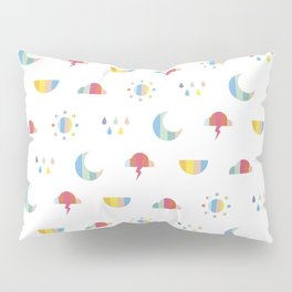 Weather Pillow Sham