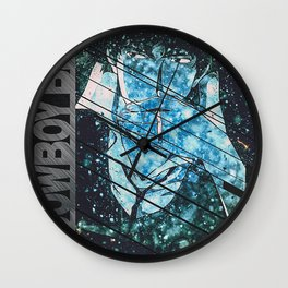 Cowboy Bebop Quote Wall Clock
