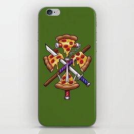 Ninja Pizza iPhone Skin