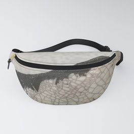 Edge of raku ceramic vase - Perfect imperfection! Fanny Pack