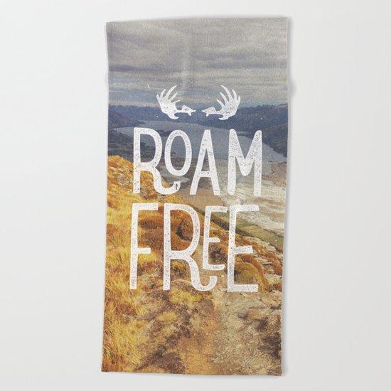 Roam Free NZ Beach Towel