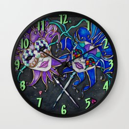 The Jesters Wall Clock