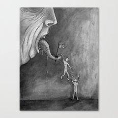 The claim on freedom Canvas Print