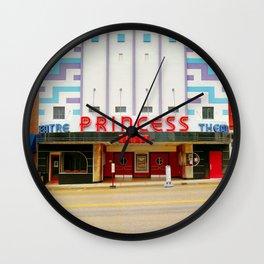 Princess Theater Wall Clock