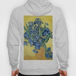 1890-Vincent van Gogh-Irises-73,5x92 Hoody