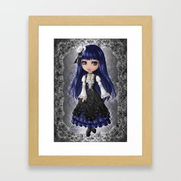 Elegant Gothic Aristocrat Framed Art Print