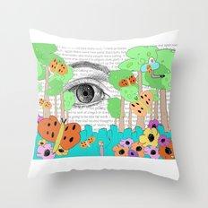 Eye Dream Throw Pillow