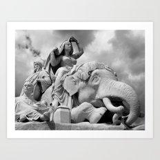 Europe 6 Art Print