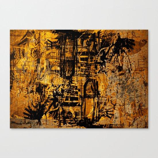 Thinking Yellow Canvas Print