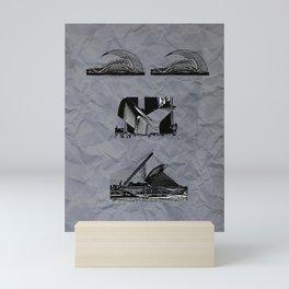 Santiago Calatrava Mini Art Print