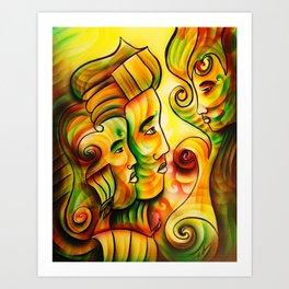 """Attentive"" Art Print"