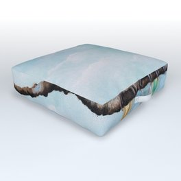 One Spring Day Outdoor Floor Cushion