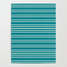 Mod Stripe Poster