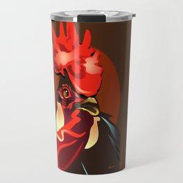 Andalusian Rooster 2 Travel Mug