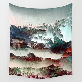 Untitled tree scene Wall Tapestry