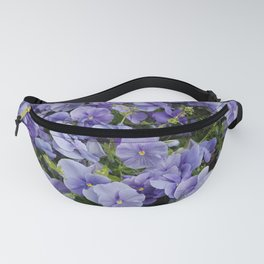 Pansy flower Fanny Pack