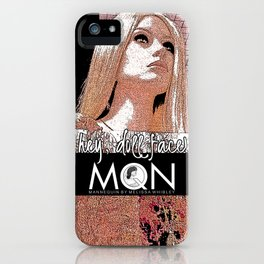 Oh One MQN iPhone Case