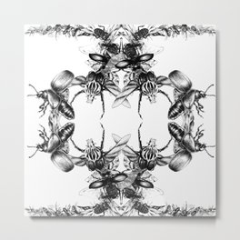 Exponential Growth Metal Print