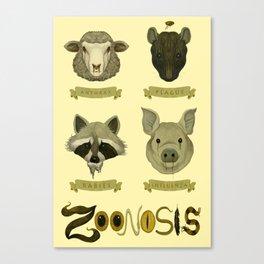 Zoonosis Canvas Print