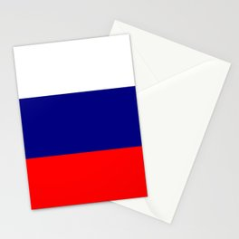 Flag of Russia Stationery Cards