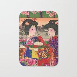 Two Geishas Bath Mat
