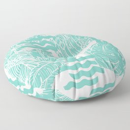Jungle Green Floor Pillow