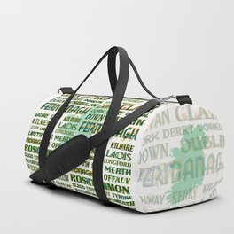 32 Counties Of Ireland Duffle Bag