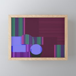 Kairos Framed Mini Art Print