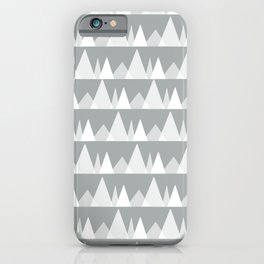 Scandinavian Trees | gray iPhone Case