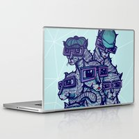 school Laptop & iPad Skins featuring Art School by littleclyde