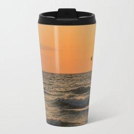 Against the Wind Travel Mug
