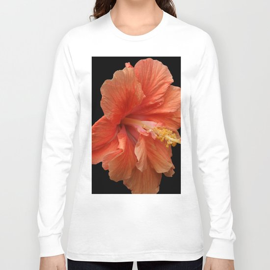 Double Orange Hibiscus DPG160419 Long Sleeve T-shirt