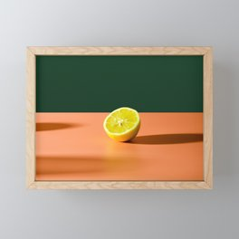 the art of lemon Framed Mini Art Print