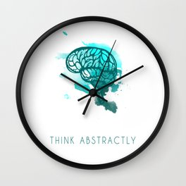 Think Abstractly Wall Clock
