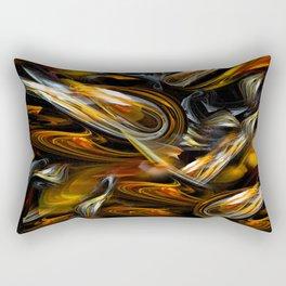Shrimp abstract Rectangular Pillow